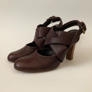 * BEBE * Shoes Made in Spain Size 6.5 M Brown